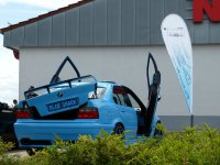 Blue Shark goes on V8 #Bollerwagen - 3er BMW - E36 - P1050702.JPG