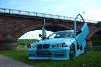 Blue Shark goes on V8 #Bollerwagen - 3er BMW - E36 - P1140474.JPG