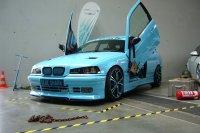 Blue Shark goes on V8 #Bollerwagen - 3er BMW - E36 - P1140690.JPG