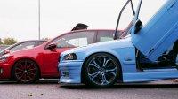 Blue Shark goes on V8 #Bollerwagen - 3er BMW - E36 - P1030376.JPG