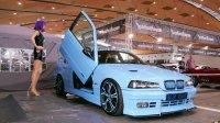 Blue Shark goes on V8 #Bollerwagen - 3er BMW - E36 - P1030143.JPG