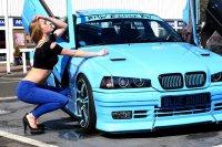 Blue Shark goes on V8 #Bollerwagen - 3er BMW - E36 - P1020181_bearb.jpg