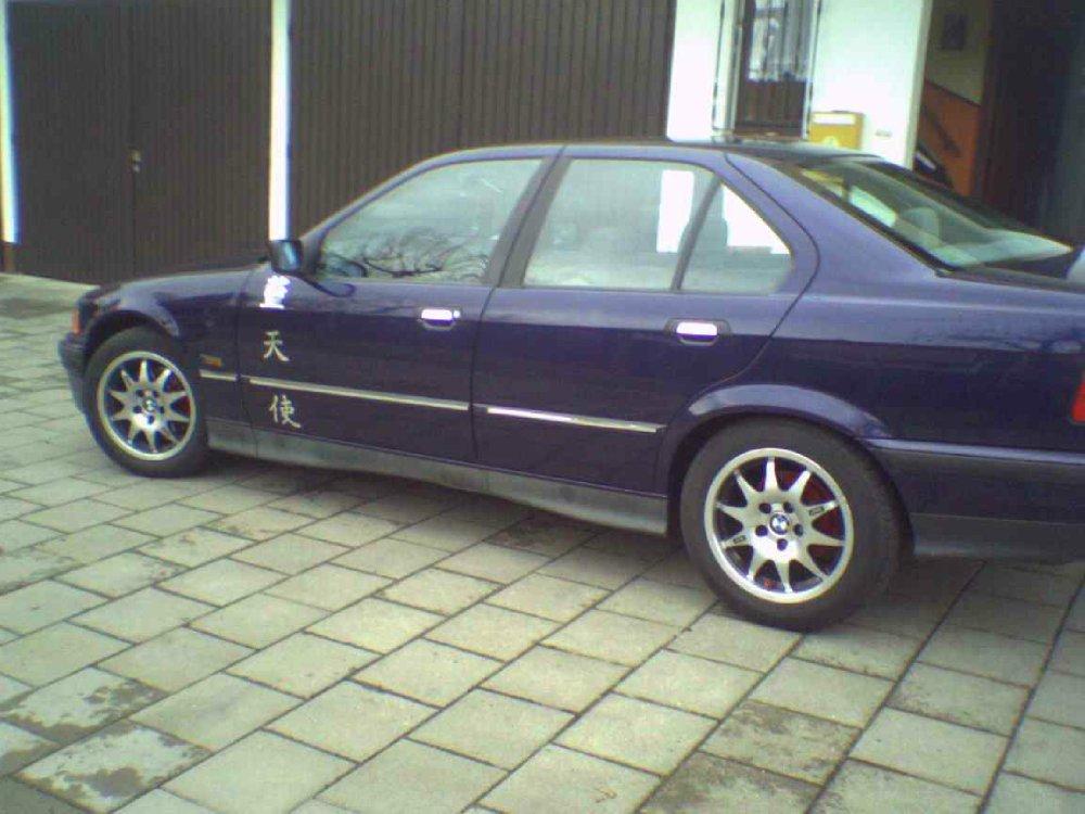 Blue Shark  +++Rieger/Lambo-Style/Alcantara+++ - 3er BMW - E36