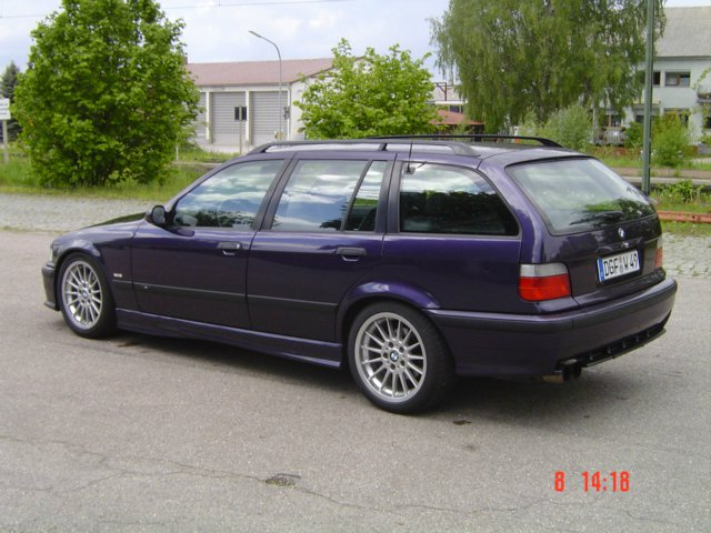 first bmw e36 touring m tech technoviolett 3er bmw. Black Bedroom Furniture Sets. Home Design Ideas