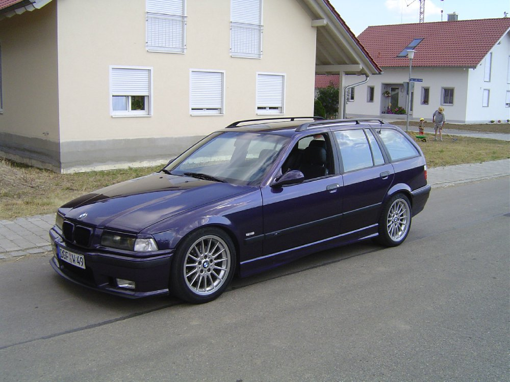 First Bmw E36 Touring M Tech Technoviolett 3er Bmw