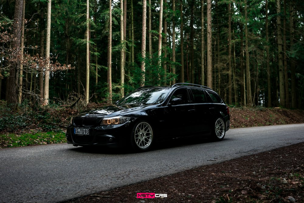 BMW E91 320d on BBS RS II - 3er BMW - E90 / E91 / E92 / E93