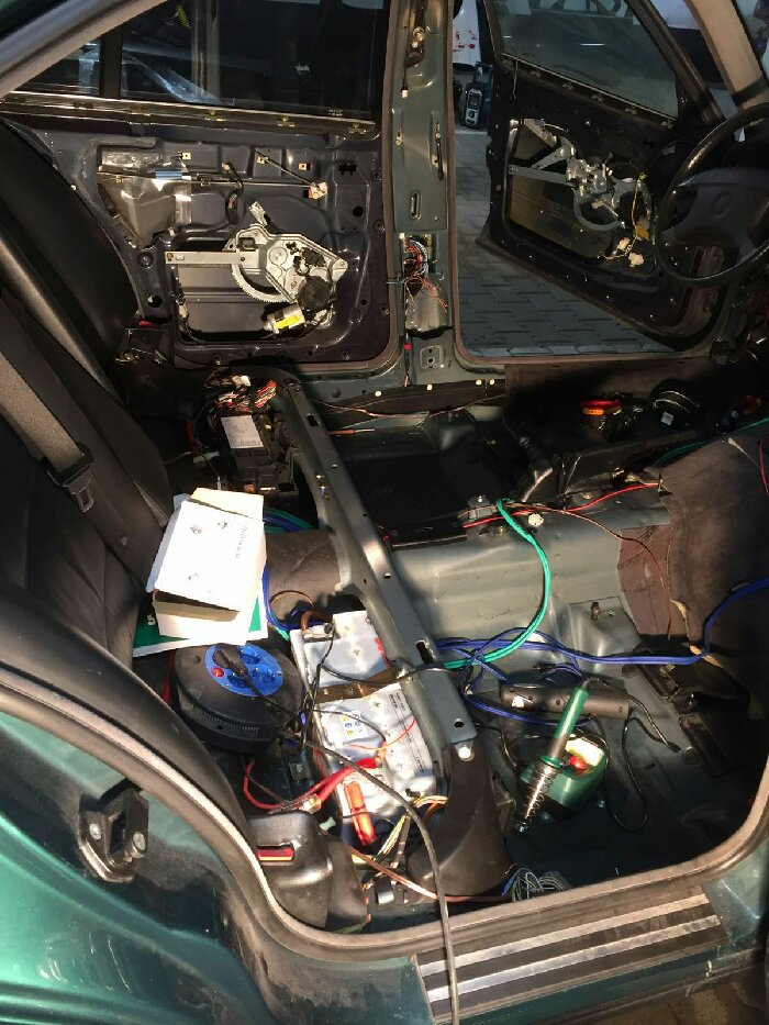 Projekt E34 520i 24V - 5er BMW - E34