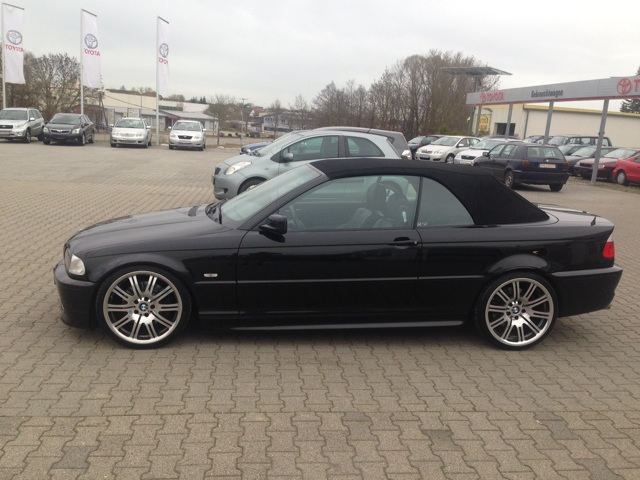 bmw e46 330 cabrio 3er bmw e46 cabrio tuning fotos bilder stories. Black Bedroom Furniture Sets. Home Design Ideas