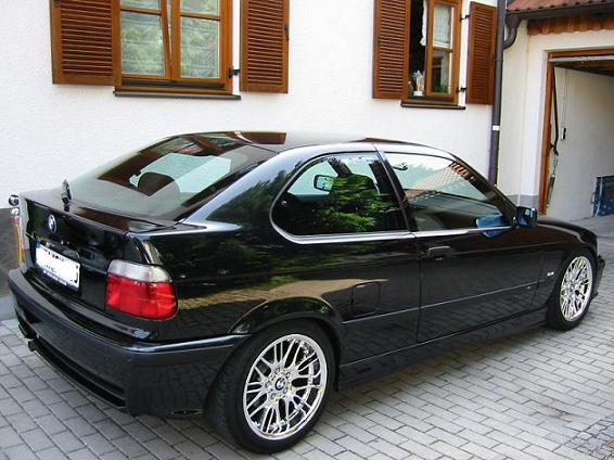 e36 3er bmw e36 compact tuning fotos. Black Bedroom Furniture Sets. Home Design Ideas