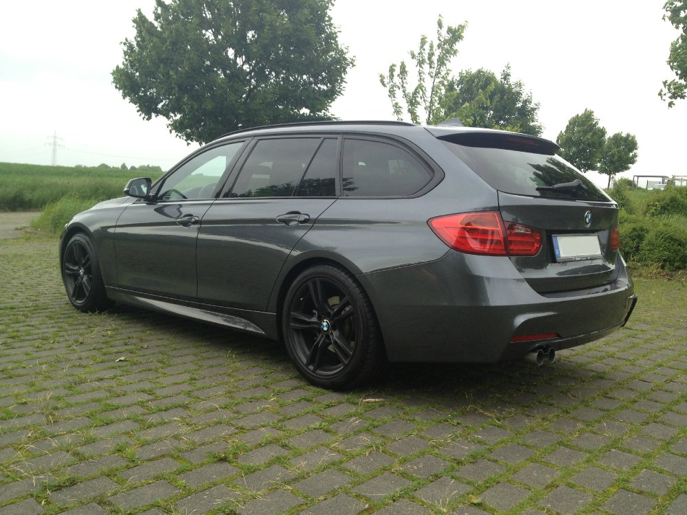 f31 mineralgrau metallic 3er bmw f30 f31 f34 f80 touring tuning fotos. Black Bedroom Furniture Sets. Home Design Ideas