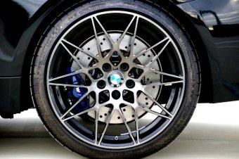 BMW M Sternspeiche 666 Felge in 10x20 ET 40 mit Michelin Pilot Super Sport* Reifen in 285/30/20 montiert hinten Hier auf einem 4er BMW F82 M4 (Coupe) Details zum Fahrzeug / Besitzer