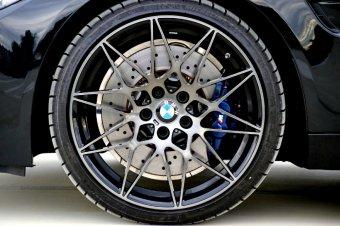 BMW M Sternspeiche 666 Felge in 9x20 ET 29 mit Michelin Pilot Super Sport* Reifen in 265/30/20 montiert vorn Hier auf einem 4er BMW F82 M4 (Coupe) Details zum Fahrzeug / Besitzer