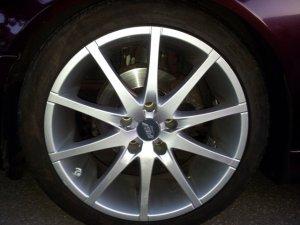Proline (PLW)  Felge in 8.5x18 ET  mit Proline (PLW)  Reifen in 235/40/18 montiert vorn Hier auf einem 5er BMW E39 520i (Limousine) Details zum Fahrzeug / Besitzer