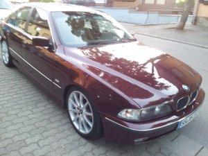 Proline (PLW)  Felge in 8.5x18 ET  mit Proline (PLW)  Reifen in 235/40/18 montiert hinten Hier auf einem 5er BMW E39 520i (Limousine) Details zum Fahrzeug / Besitzer