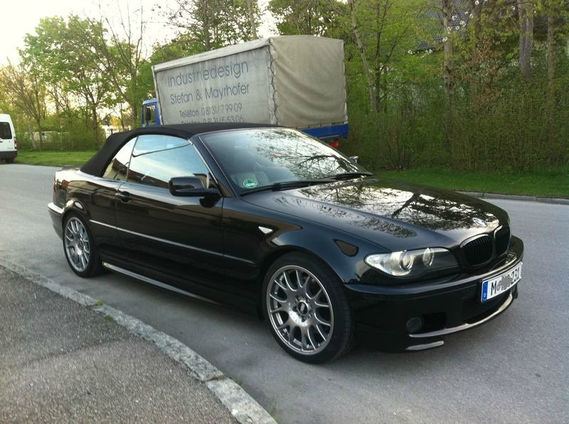 bmw e46 330ci 3er bmw e46 cabrio tuning fotos. Black Bedroom Furniture Sets. Home Design Ideas