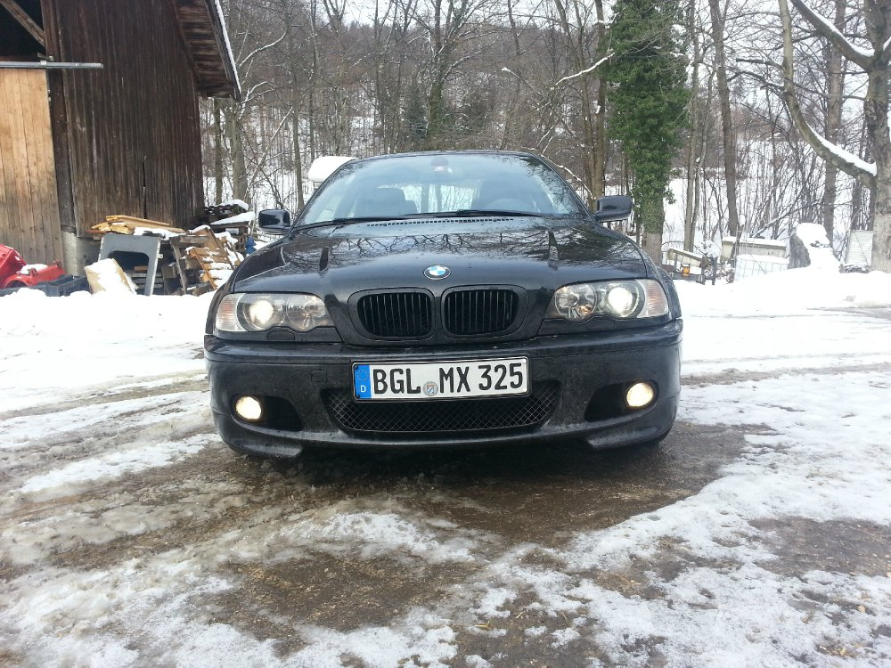 bmw e46 black edition 3er bmw e46 coupe tuning fotos bilder stories. Black Bedroom Furniture Sets. Home Design Ideas