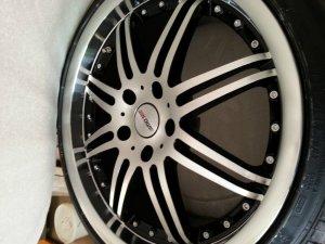 - NoName/Ebay - Antares Felge in 8.5x19 ET 35 mit Dunlop sport max Reifen in 225/35/19 montiert vorn Hier auf einem 3er BMW E46 330i (Coupe) Details zum Fahrzeug / Besitzer