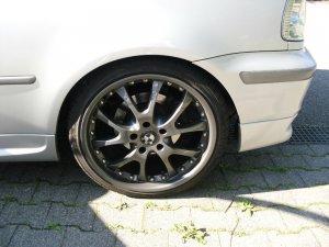 Dezent alu design Felge in 8.5x19 ET 35 mit kumho ecsta spt Reifen in 225/35/19 montiert hinten Hier auf einem 3er BMW E46 325ti (Compact) Details zum Fahrzeug / Besitzer