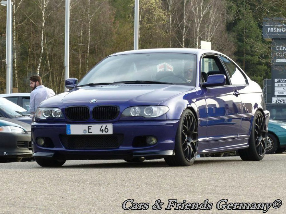 BMW 330ci Clubsport Velvetblau - 3er BMW - E46