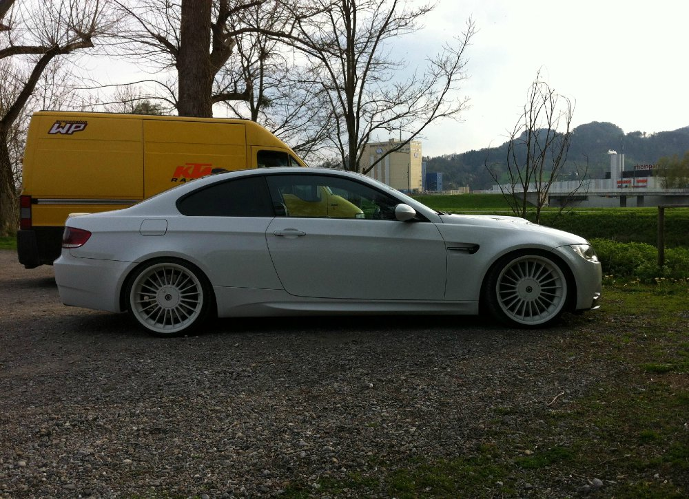 bmw m3 e92 gts mit 20 zoll alpina felgen 3er bmw e90. Black Bedroom Furniture Sets. Home Design Ideas