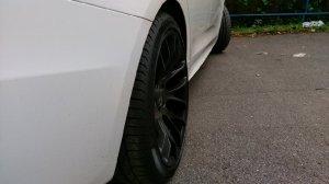 Breyton Race GTS Matt Black Felge in 10x20 ET 35 mit Pirelli P Zero Reifen in 275/35/20 montiert hinten Hier auf einem 5er BMW F07 530d (Gran Turismo) Details zum Fahrzeug / Besitzer
