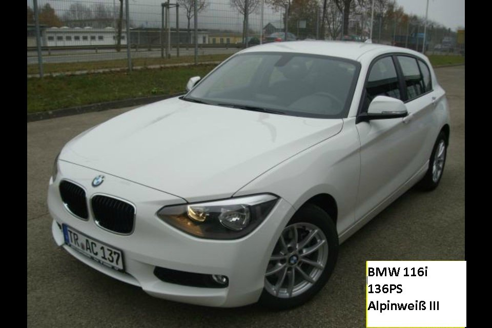 mein erstes auto f20 116i 1er bmw f20 f21 5 t rer. Black Bedroom Furniture Sets. Home Design Ideas