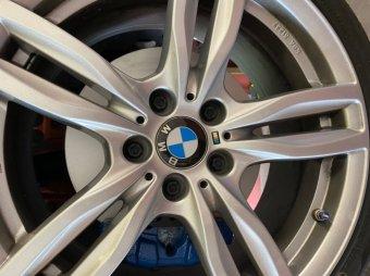 ATS  Felge in 8x18 ET 42 mit Hankook  Reifen in 225/40/18 montiert vorn Hier auf einem 1er BMW F20 128i (5-türer) Details zum Fahrzeug / Besitzer