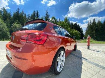 ATS  Felge in 8x18 ET 42 mit Hankook  Reifen in 225/40/18 montiert hinten mit 12 mm Spurplatten Hier auf einem 1er BMW F20 128i (5-türer) Details zum Fahrzeug / Besitzer