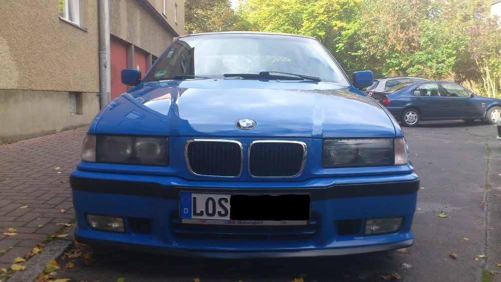Mrs. Blue - 3er BMW - E36