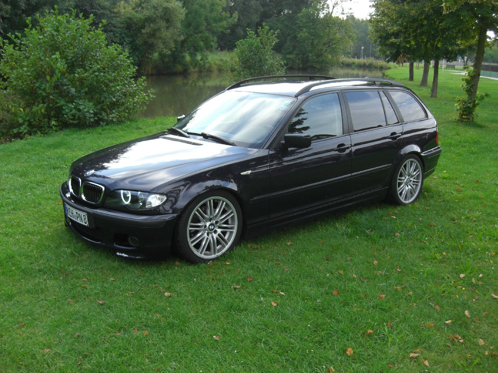 bmw e46 320d touring mit performance felgen 3er bmw. Black Bedroom Furniture Sets. Home Design Ideas