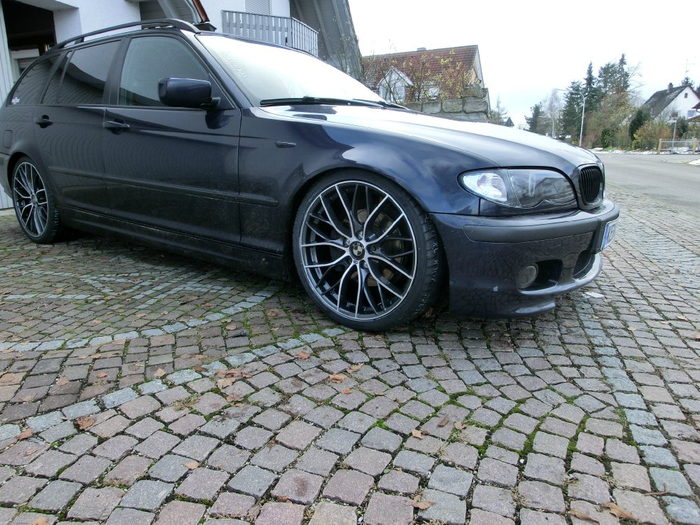 bmw e46 320d touring mit performance felgen 3er bmw e46 storyseite 2 touring tuning. Black Bedroom Furniture Sets. Home Design Ideas