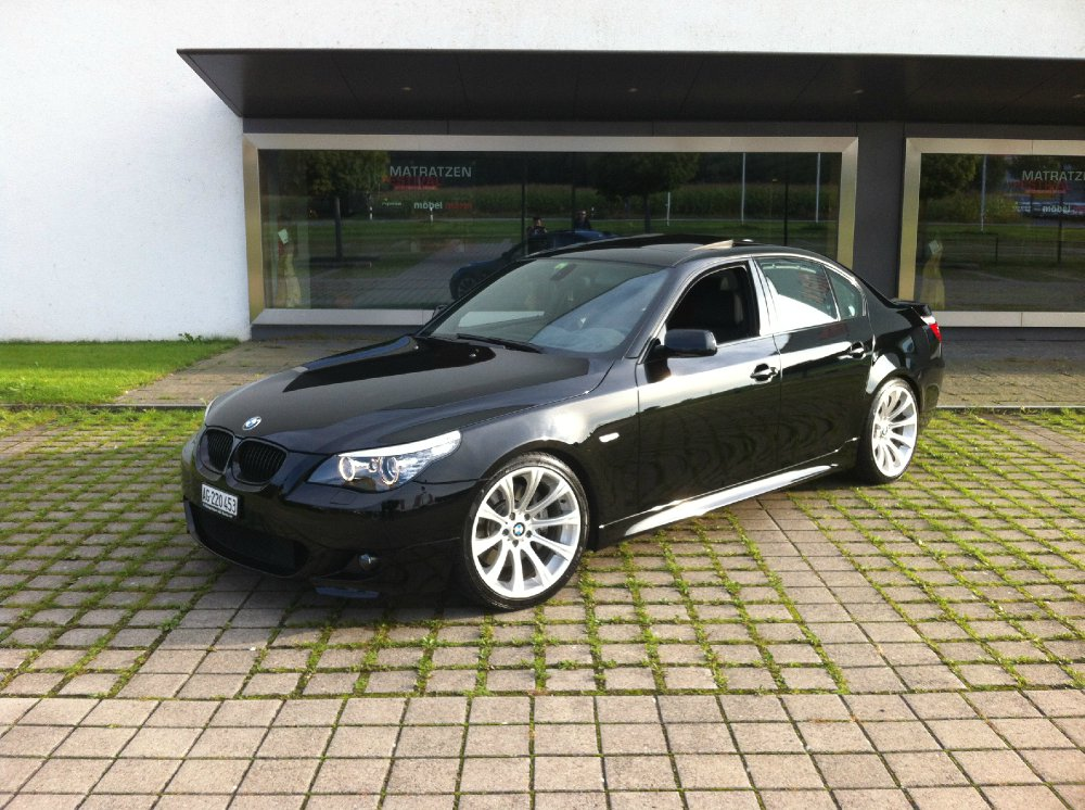 mein bmw 530i e60 m paket 5er bmw e60 e61 limousine tuning fotos bilder stories. Black Bedroom Furniture Sets. Home Design Ideas