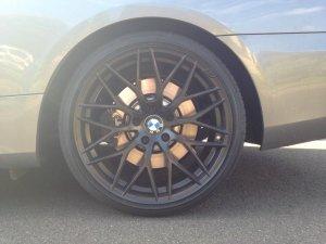 AEZ Antigua Dark Felge in 9.5x19 ET 40 mit Continental  Reifen in 255/30/19 montiert hinten Hier auf einem 3er BMW E92 335i (Coupe) Details zum Fahrzeug / Besitzer