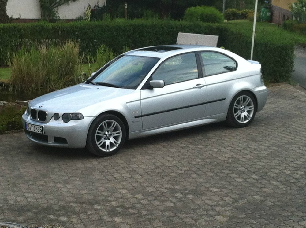 bmw e46 compact 316ti 3er bmw e46 compact tuning fotos bilder stories. Black Bedroom Furniture Sets. Home Design Ideas