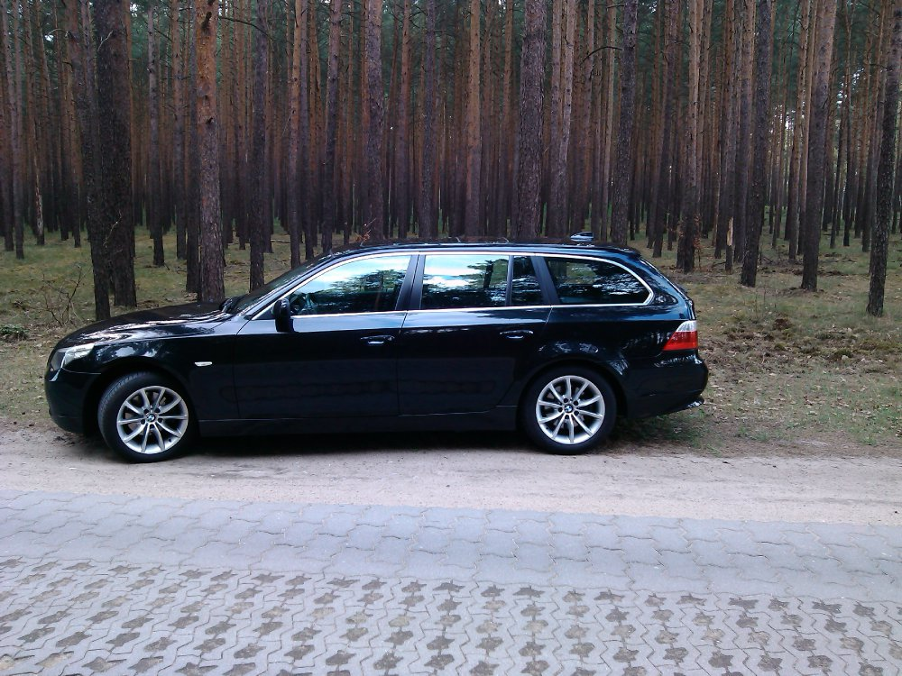 mein bmw e61 525ia 5er bmw e60 e61 touring tuning fotos bilder stories. Black Bedroom Furniture Sets. Home Design Ideas