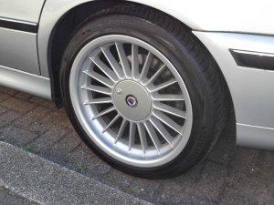 Alpina Alpina B3 Felge in 8.5x18 ET 20 mit Vredestein Ultrac Sessanta Reifen in 245/40/18 montiert hinten Hier auf einem 5er BMW E39 528i (Touring) Details zum Fahrzeug / Besitzer