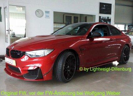 Lightweight LW-M4 in Sakhir Orange - 4er BMW - F32 / F33 / F36 / F82