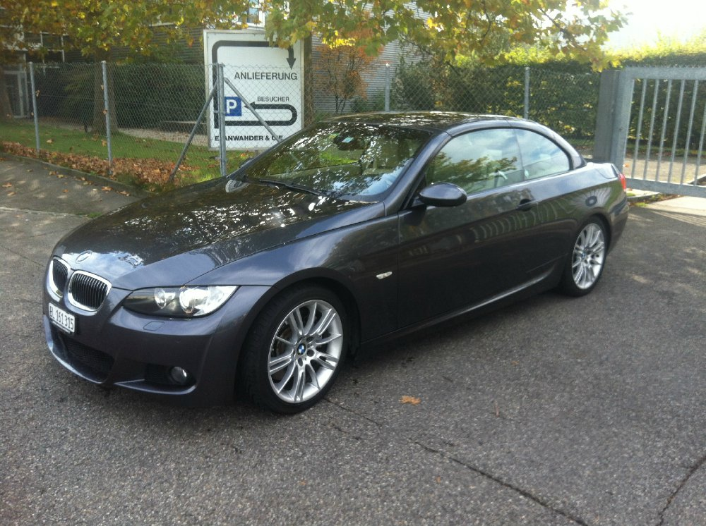 mein 335i cabrio 3er bmw e90 e91 e92 e93. Black Bedroom Furniture Sets. Home Design Ideas