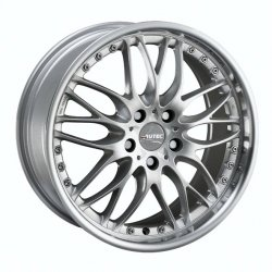 Autec K-Korona Felge in 8.5x18 ET 40 mit Dunlop  Reifen in 225/50/18 montiert vorn und mit folgenden Nacharbeiten am Radlauf: Kanten gebördelt Hier auf einem 3er BMW E46 320i (Coupe) Details zum Fahrzeug / Besitzer