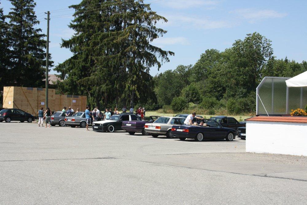 das zweite e30 treffen von denis hofer in türkheim - Fotos von Treffen & Events