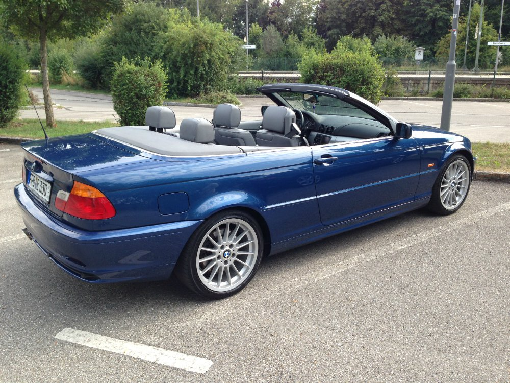 mein neues 330i cabrio 3er bmw e46 cabrio tuning fotos bilder stories. Black Bedroom Furniture Sets. Home Design Ideas