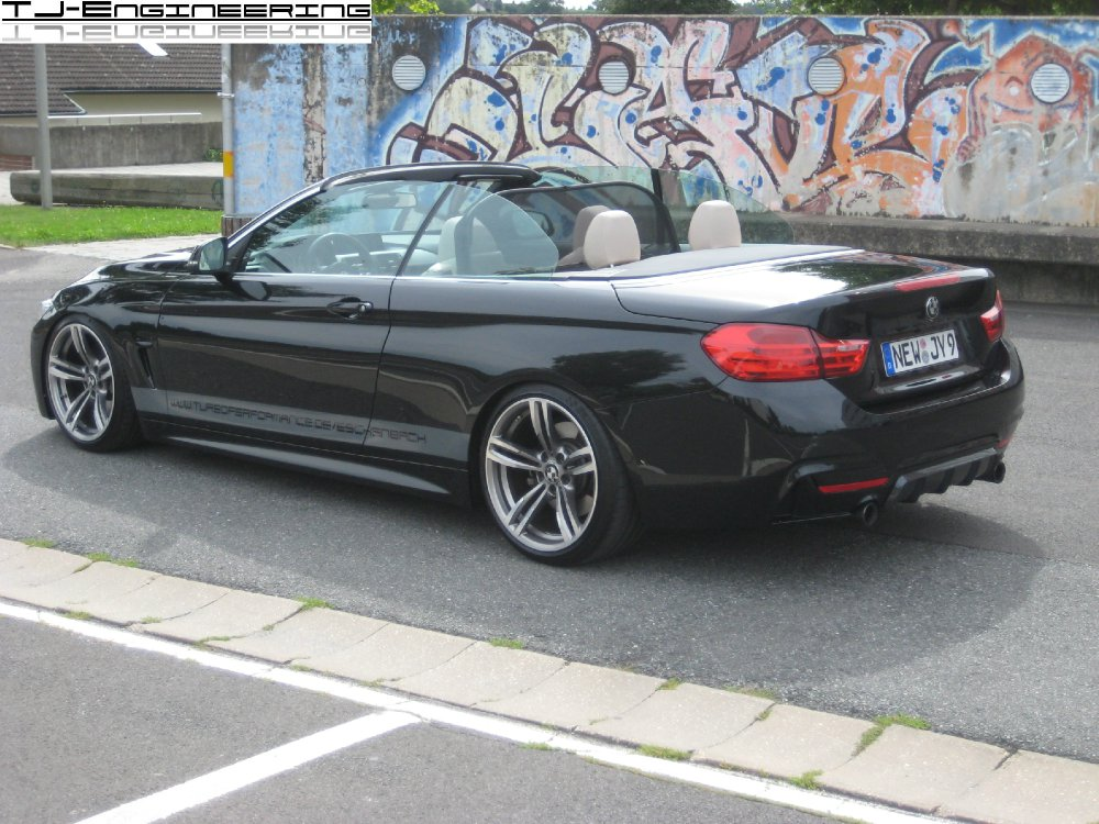 435i cabrio m4 felgen performance parts uvm 4er bmw f32 f33 f36 f82 cabrio. Black Bedroom Furniture Sets. Home Design Ideas