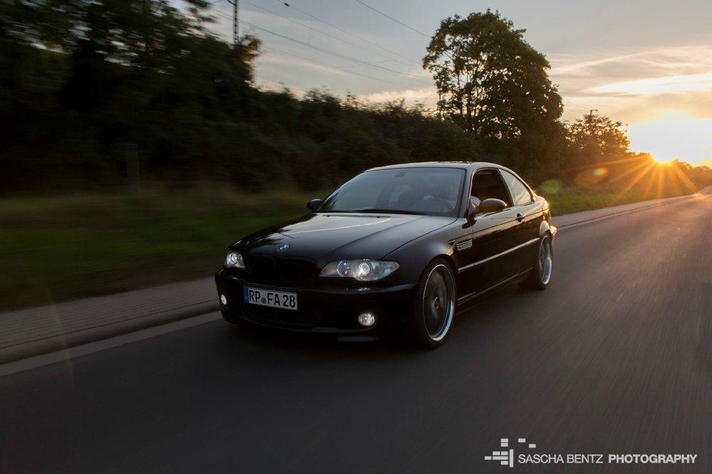 e46 320ci blackmetallic 1. Auto :-) - 3er BMW - E46