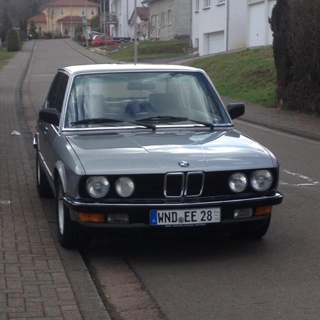 E28 535i Unverbastelt [ Fotostories Weiterer BMW Modelle