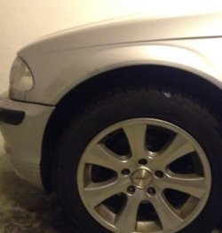 Dezent Dezent K Felge in 7x16 ET 37 mit Nokian Reifen  Reifen in 205/35/16 montiert vorn Hier auf einem 3er BMW E46 318i (Limousine) Details zum Fahrzeug / Besitzer