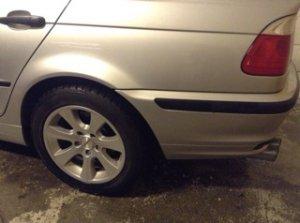 Dezent Dezent K Felge in 7x16 ET 37 mit Nokian Reifen  Reifen in 205/35/16 montiert hinten Hier auf einem 3er BMW E46 318i (Limousine) Details zum Fahrzeug / Besitzer