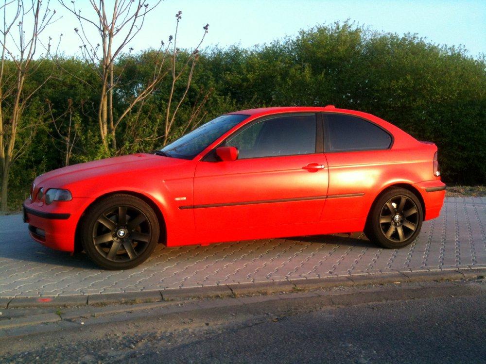 mal was anderes: rot-matt - 3er BMW - E46