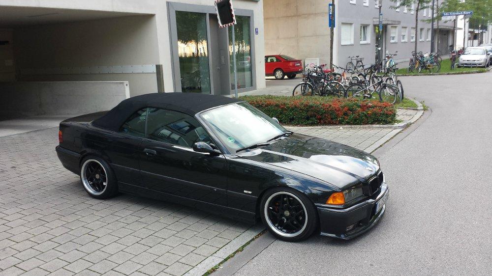 Mein Neuer E36 328i Cabrio Cosmosschwarz - 3er BMW - E36