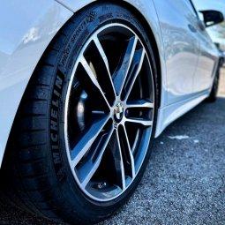 BMW M704 Felge in 8.5x19 ET 47 mit Michelin PS4S Reifen in 255/35/19 montiert hinten mit 12 mm Spurplatten Hier auf einem 4er BMW F36 440i (Gran Coupe (GC)) Details zum Fahrzeug / Besitzer