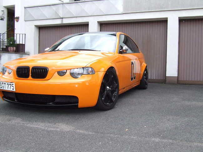 orange 325ti compact oldschool 3er bmw e46 compact tuning fotos bilder stories. Black Bedroom Furniture Sets. Home Design Ideas
